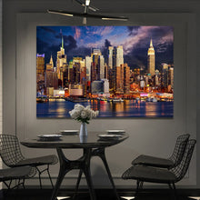 Load image into Gallery viewer, Modern Landscape Posters and Prints Wall Art Canvas Painting Modern Urban Landscape Decorative Painting For Living Room Decor - SallyHomey Life's Beautiful
