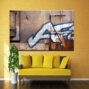 Modern Graffiti Art Painting Mouse Under Umbrella LET THEM EAT CRACK Print Poster Canvas Painting Wall Art Home Decor Frameless - SallyHomey Life's Beautiful