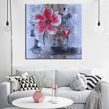 Load image into Gallery viewer, 🔥70x70cm, Modern Paintings Canvas Wall Art Prints On Canvas Colorful Hand Painted Flowers Poster for Living Room Home Decor Gifts - SallyHomey Life's Beautiful