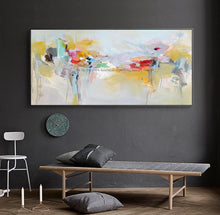 Load image into Gallery viewer, Large canvas wall art acrylic painting modern paintings wall painting hand painted canvas oil painting wall pictures for bedroom - SallyHomey Life's Beautiful