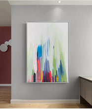 Load image into Gallery viewer, Wall paintings for bedrooms large canvas art oil paintings for living room wall acrylic vertical abstract art modern pictures - SallyHomey Life's Beautiful