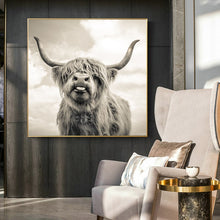 Load image into Gallery viewer, 70x70cm -  Cute Yak Pictures - SallyHomey Life's Beautiful