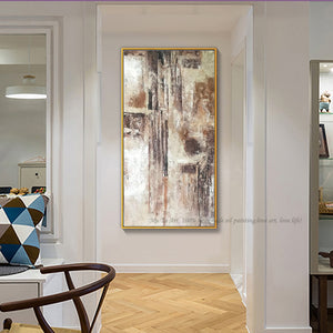 Abstract art canvas acrylic paintings decorative canvas art hand painted oil paintings quadro decorativo custom for living room - SallyHomey Life's Beautiful