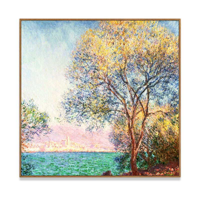 100% Hand Painted Colorful Landscape Oil Painting On Canvas Wall Art Frameless Picture Decoration For Live Room Home Decor Gift