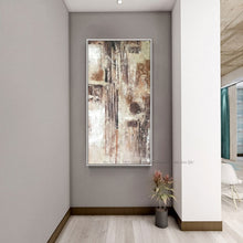 Load image into Gallery viewer, Abstract art canvas acrylic paintings decorative canvas art hand painted oil paintings quadro decorativo custom for living room - SallyHomey Life's Beautiful