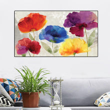 Load image into Gallery viewer, 70x140cm Modern Colorful Flower Wall Art Picture - SallyHomey Life's Beautiful