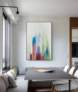 Wall paintings for bedrooms large canvas art oil paintings for living room wall acrylic vertical abstract art modern pictures - SallyHomey Life's Beautiful