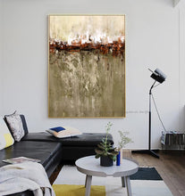 Load image into Gallery viewer, Hand painted abstract canvas painting wall art for living room laminas decorativas pared cuadros decorative pictures on the wall - SallyHomey Life's Beautiful