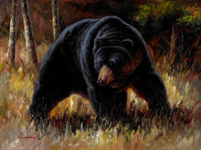 Load image into Gallery viewer, Abstract Animal Posters Print on Canvas Wall Art Canvas Painting Grizzly Bear Pictures Wall Decoration For Living Room Frameless - SallyHomey Life's Beautiful