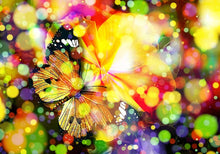 Load image into Gallery viewer, Modern Posters and Prints Wall Art Canvas Painting Multicolored Dreamy Butterfly Decorative Pictures for Living Room Home Decor - SallyHomey Life's Beautiful