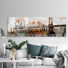 Load image into Gallery viewer, Abstract George Washington Bridge Poster and Prints - SallyHomey Life's Beautiful