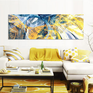 Bright Color Lines Pictures for Living Room Home Decor - SallyHomey Life's Beautiful