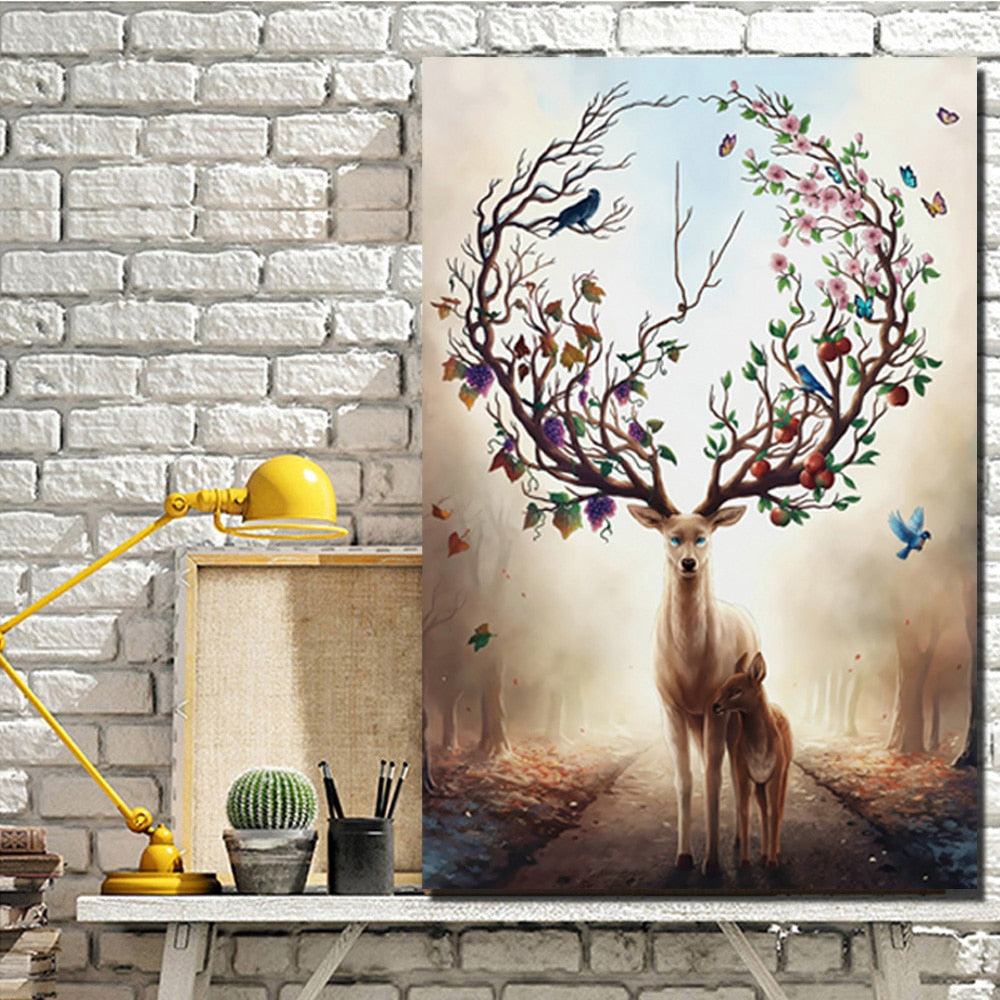 70x100cm - Canvas Prints Wall Art - SallyHomey Life's Beautiful