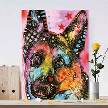 Load image into Gallery viewer, Modern Abstract Art Posters and Prints on Canvas Wall Art Painting Watercolor Pet Dogs Decorative Painting for Kids Room Decor - SallyHomey Life's Beautiful