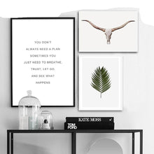 Load image into Gallery viewer, Scandinavian Forest Leaf Canvas Poster Motivational Nordic Style Nature Wall Art Print Painting Decoration Pictures Home Decor - SallyHomey Life's Beautiful