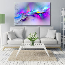Load image into Gallery viewer, Abstract Colorful Clouds No Frame - SallyHomey Life's Beautiful