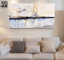 Load image into Gallery viewer, Abstract Painting acrylic Painting Abstract Art Wall Paintings Living Room Bedroom Home Interior Beach House Decor Gift - SallyHomey Life's Beautiful
