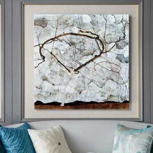 Autumn Tree in Movement by Egon Schiele, Abstract Art Posters and Prints Wall Art Canvas Painting for Living Room Decor No Frame - SallyHomey Life's Beautiful