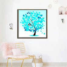 Load image into Gallery viewer, Digital Printed Heart Shape Leaves Figure Canvas Painting Poster, Wall Pictures for Living Room Home Decoration, Wall Art Decor - SallyHomey Life's Beautiful