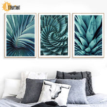 Load image into Gallery viewer, Tropical Flesh Plant Agave Pineapple Wall Art Canvas Painting Nordic Posters And Prints Wall Pictures For Living Room Home Decor - SallyHomey Life's Beautiful