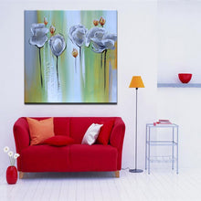 Load image into Gallery viewer, 70x70cm - Modern Abstract Hand Painted Paintings Prints on Canvas - SallyHomey Life's Beautiful