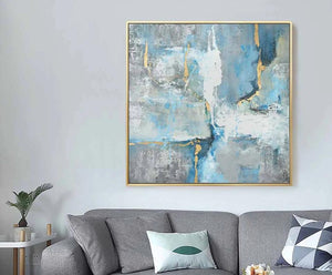 New Arrivals Hand-painted High Quality Big Size Abstract Oil Painting on Canvas Kinds of Abstract Acrylic Painting for Wall Art - SallyHomey Life's Beautiful