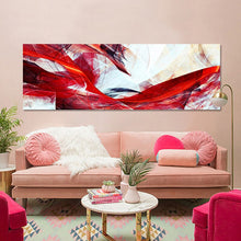 Load image into Gallery viewer, Abstract Yellow and Red Poster Decorative Picture for Living Room Home Decor - SallyHomey Life's Beautiful