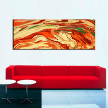 Load image into Gallery viewer, Modern Abstract Oil Painting Like Volcanic Canvas Painting Watercolor Poster Wall Painting Art for Living Room Home Decoration - SallyHomey Life's Beautiful