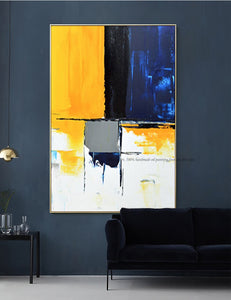 Living room oil painting abstract modern on canvas handmade laminas de cuadros pared decorativas lienzos cuadros decorativos - SallyHomey Life's Beautiful