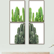 Load image into Gallery viewer, Fresh Cactus Tropical Succulents Plant Wall Art Canvas Painting Nordic Posters And Prints Wall Pictures For Living Room Decor - SallyHomey Life's Beautiful