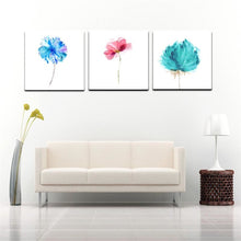 Load image into Gallery viewer, Nordic Modern Abstract Watercolor Canvas Painting Handmade Flowers Oil Painting Wall Art Pictures For Living Room Home Decor - SallyHomey Life's Beautiful