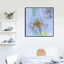 Load image into Gallery viewer, 70x70cm Modern Hand Paint Flowers Poster Prints on Canvas - SallyHomey Life's Beautiful