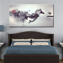 Load image into Gallery viewer, Modern Abstract Canvas Painting Medley Fly Horse HD Printed Poster Wall Art Painting for Living Room Home Decor Gift Frameless - SallyHomey Life's Beautiful