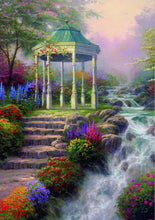 Load image into Gallery viewer, Warm Pastoral Landscape Oil Paintings by Thomas Kinkade, Posters Print on Canvas Wall Art Canvas Painting for Living Room Decor - SallyHomey Life's Beautiful