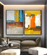 Load image into Gallery viewer, Abstract painting large canvas wall art tableau decoration murale salon wall pictures for living room modern oil painting - SallyHomey Life's Beautiful