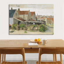 Load image into Gallery viewer, Netherlands Painter Van Gogh - Drying House at Scheveningen Poster Print on Canvas Wall Art Painting for Living Room Home Decor - SallyHomey Life's Beautiful