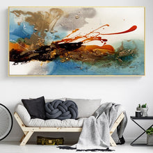 Load image into Gallery viewer, Colorful Rhythm Pictures for Living Room Decor No Frame - SallyHomey Life's Beautiful
