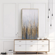 Load image into Gallery viewer, Large wall painting on canvas vertial abstract art decorative pictures for living room wall lienzos cuadros decorativos golden - SallyHomey Life's Beautiful