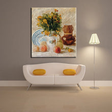 Load image into Gallery viewer, Famous Abstract Oil Painting Van Gogh Coffee and Fruits Canvas Painting Wall Painting for Living Room Home Decoration Frameless - SallyHomey Life's Beautiful