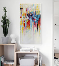 Load image into Gallery viewer, Wall art pictures for living room large abstract painting canvas wall art tableau peinture sur toile oil picture for bedroom - SallyHomey Life's Beautiful