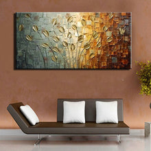 Load image into Gallery viewer, Handmade Texture Knife Flower Tree Abstract Modern Wall Art Oil Painting Canvas Home Wall Decor For Room Decoration - SallyHomey Life's Beautiful