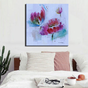 70x70cm - Modern Abstract Hand Painted Paintings Prints on Canvas - SallyHomey Life's Beautiful