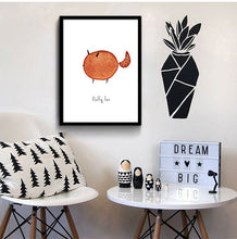 Load image into Gallery viewer, Cartoon Dinosaur Bird Minimalist Nordic Art Canvas Poster Painting Funny Modern Nursery Picture Kids Room Decor - SallyHomey Life's Beautiful