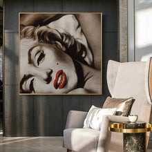 Load image into Gallery viewer, Modern Film Star Posters and Prints Wall Art Canvas Painting Goddes Marilyn Monroe Pictures Home Decoration for Living Room - SallyHomey Life's Beautiful