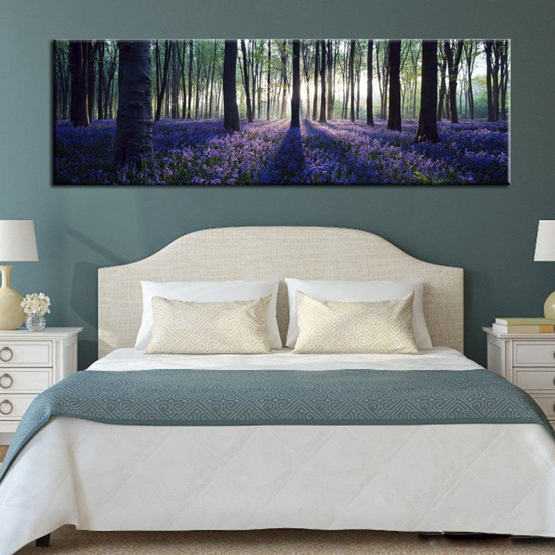 60x180cm - Large  Landscape Pictures for Living room, bedroom - SallyHomey Life's Beautiful