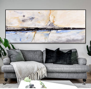 Abstract Painting acrylic Painting Abstract Art Wall Paintings Living Room Bedroom Home Interior Beach House Decor Gift - SallyHomey Life's Beautiful