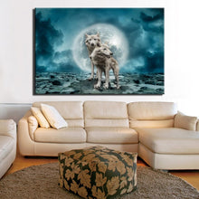Load image into Gallery viewer, Modern Animals Posters and HD Prints Wall Art Canvas Painting Wall Decoration Wolves Pictures for Living Room Wall Frameless - SallyHomey Life's Beautiful