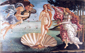 Classic Famous Painting Botticelli's Birth of Venus Poster Print on Canvas Wall Art Painting for Living Room Home Decor No Frame - SallyHomey Life's Beautiful