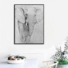 Load image into Gallery viewer, Modern Abstract Animal Posters And Prints Wall Art Canvas Painting Cow Pictures For Living Room Wall Home Decoration Frameless - SallyHomey Life's Beautiful