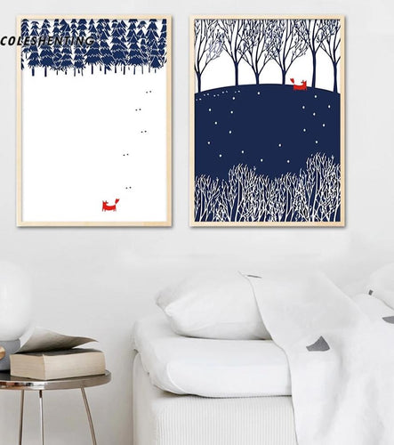 Abstract Posters and Prints Minimalist Canvas Art Painting Decorative Picture Nordic Style Kids Decoration - SallyHomey Life's Beautiful